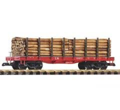 PIKO #38713 Flat with Logs - CN #92675