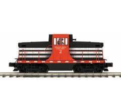 MTH #20-21114-1 Springfield Terminal GE 44 Ton Diesel Engine w/Proto-Sound 3.0 (Hi-Rail Wheels)