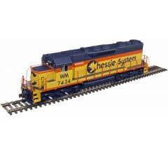 Atlas #10002787 Chessie #7801 SD-35 Locomotive w/DCC & Sound