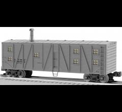 Lionel #1926142 Santa Fe Bunk Car #196754