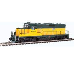 Walthers #910-10406 EMD GP9 Phase II with Chopped Nose - Chicago & North Western #4504
