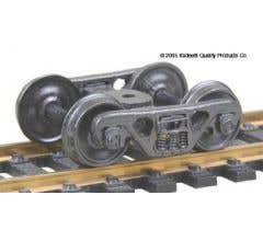 Kadee #513 HO-Scale A.S.F.100-ton Roller Bearing Trucks
