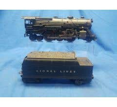 Lionel #LIO2035G Used Steam Engine And Tender Road Number 2035