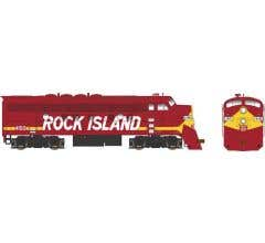 Bowser #24601 F9AM w/DCC & Sound Rock Island ex UP #4150