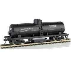 Bachmann #16301 Track Cleaning Tank Car MOW Blk.