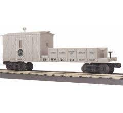 MTH 30-79571 Southern Pacific Crane Tender Car