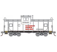 Athearn Roundhouse #1357 Wide Vision Caboose - Canadian Pacific