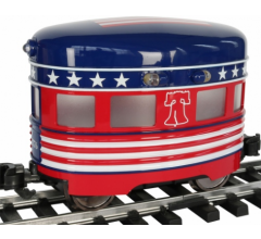 Bachmann #96278 Eggliner Independence Day