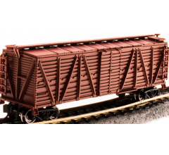 Broadway Limited #3579 Unlettered Oxide Red Stock Car Chicken Sounds N