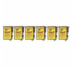 """Circuitron #800-6206 """"Smail"""" Slow Motion Actuator with Integrated Logic (DCC Decoder Equipped) 6 Pack"""