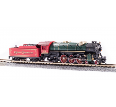 """Broadway Limited #6232 Heavy Pacific 4-6-2 """"Merry Christmas"""" Engine #25 Paragon3 Sound/DC/DCC"""