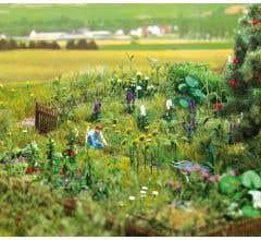 Walthers #949-1117 Overgrown Garden Kit