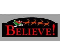Miller Engineering #2014 Believe rotating sign