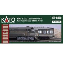 Kato #106-0440 EMD E7A New York Central 2 Locomotive Set