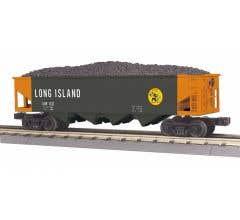 MTH 30-75691 4-Bay Hopper Car - Long Island (Trainworld) #6112