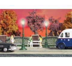 Walthers #949-4302 Scenemaster Small Street Lights pkg(2)