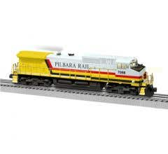 Lionel #1933243 Pilbara Rail LEGACY C44-9W #7098 non powered (Built To Order)