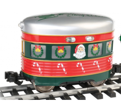 Bachmann #96281 Christmas Santa & Sleigh Eggliner