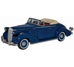 Oxford #87BS36005  Musketeer Blue Buick Special Convertible 1936