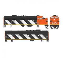 Bowser #24042 EMD F7A/B w/Sound & DCC - Canadian National #9168 & #9195