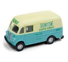 Classic Metal Works #30523 Crib Diaper Service International Metro Van - Assembled - Mini-Metals