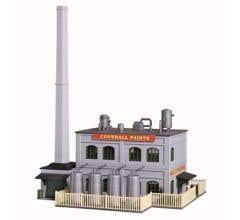 Model Power #2589 Coverall Paints Assembled Building Built Up