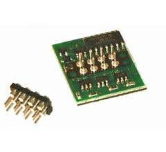 NCE #5240103 (D14SRP) HO DCC Decoder Plug n Play 6 Function 8 Pin 1A D14SRP