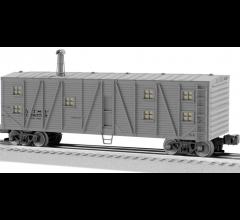 Lionel #1926143 Santa Fe Bunk Car #196459