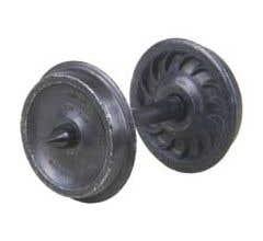 "Kadee #300 24"" Diameter Ribbed Griffin Wheelsets (8 Sets)"