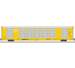 Atlas #20005664 HO Gunderson Multi Max Auto Rack CN-GTW #695768