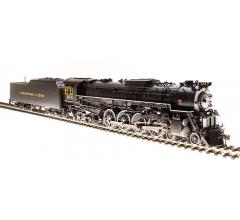 Broadway Limited #4900 C&O J3a 4-8-4 Greenbrier Brass Hybrid #610 In-Service Version w/ Paragon3 Sound/DC/DCC HO