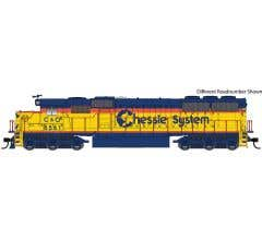 Walthers #910-10363 EMD SD50 - Standard DC Chessie System - Chesapeake & Ohio #8569