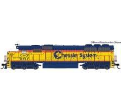 Walthers #910-10364 EMD SD50 - Standard DC Chessie System - Chesapeake & Ohio #8574