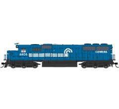 Walthers #910-10368 EMD SD50 - Standard DC - Conrail #6834