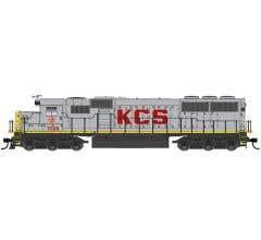 Walthers #910-10374 EMD SD50 - Standard DC - Kansas City Southern #7016