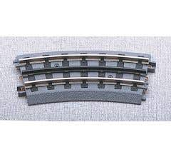 MTH 40-1057-2 RealTrax - O-54 Half Curve Track - Blister Carded