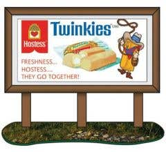 Classic Metal Works #20241 1950s Hostess Country Billboard