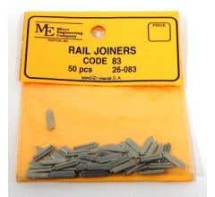 Micro Engineering #26-083 HO Rail Joiners, Slip On, Code 83 N.S.(50)