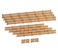 Lionel HO #2057130 Picket Fence - Brown