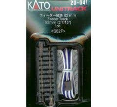 "Kato #20-041 62mm (2 7/16"") Feeder Track [1 pc]"