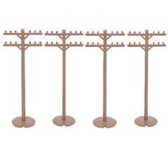 Bachmann #42102 Telephone Poles (12 pieces)