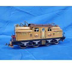 Lionel #LIO408E-1 Original 408E Two Tone Brown Standard Gauge 0-4-4-0 Electric Locomotive