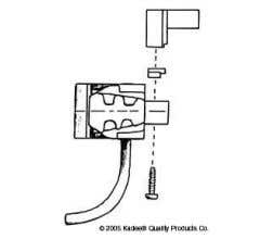 Kadee #782 G-Scale Coupler Cut Couplers with Mounting Brackets