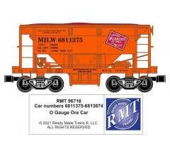 RMT #96716-21 O MILW Ore Car