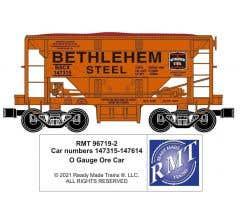 RMT #96719-221 O Bethlehem Steel Johnstown Ore Car