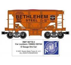RMT #96719-321 O Bethlehem Steel Sparrow's Point Ore Car