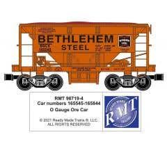 RMT #96719-421 O Bethlehem Steel Steelton Ore Car