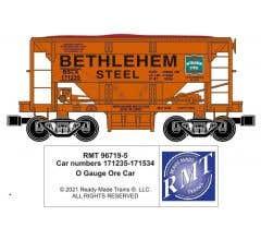 RMT #96719-521 O Bethlehem Steel Lackawanna Ore Car