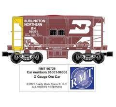 RMT #96728 O BN Ore Car