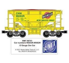 RMT #96741 O CNW Ore Car